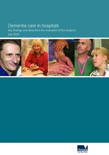 Dementia care in hospitals - Department of Health