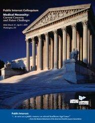 Medical Necessity - American Health Lawyers Association