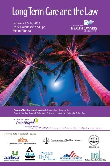 2010 Long Term Care Program brochure - The American Health ...