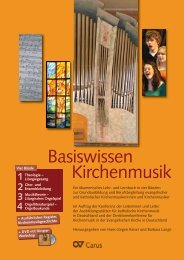 Kirchenmusik Basiswissen - Carus Verlag