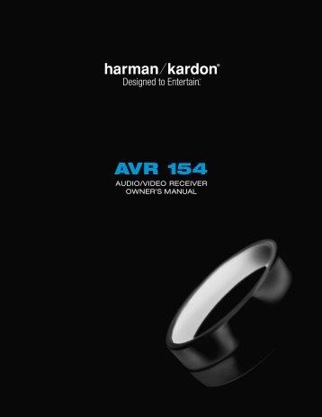 AVR 154 - Harman Kardon