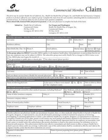 Claim Form Claim Form Bajaj Allianz Health Insurance