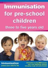 pre school - Health Promotion Agency