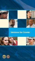 SUD Pocket Guide - VA/DoD Clinical Practice Guidelines Home