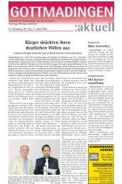 Gottmadingen Aktuell, Nr. 16 vom 17. April 2008
