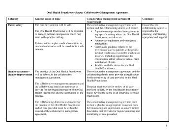 Sample collaborative practice agreement for Nurse practitioner contract template