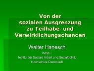 Von der sozialen Ausgrenzung zu Teilhabe- und ... - Grundbildung.de