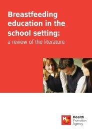 Breastfeeding education in the school setting: - Health Promotion ...