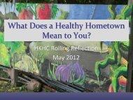 Louisville - Healthy Kids Healthy Communities