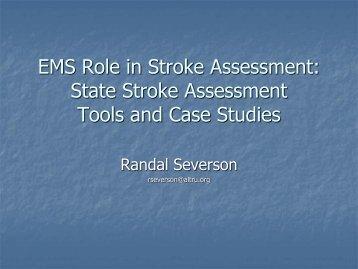 EMS Role in Stroke Assessment - American Heart Association