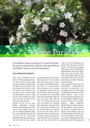 Kleine Paradiese (PDF) - bei GREEN Pflanzenhandel GmbH