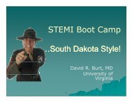 STEMI Boot Camp …South Dakota Style! - American Heart Association