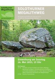 Solothurner MeGAlIthweG - guidle
