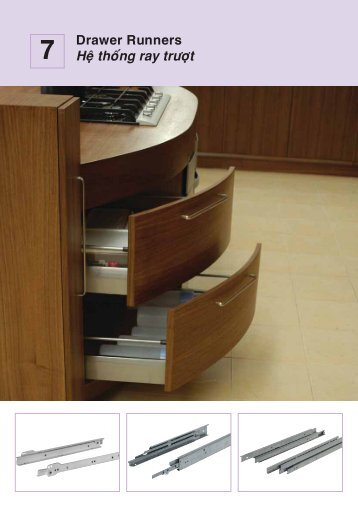 Sliding/Pull Out Cabinet Runners - Hafele
