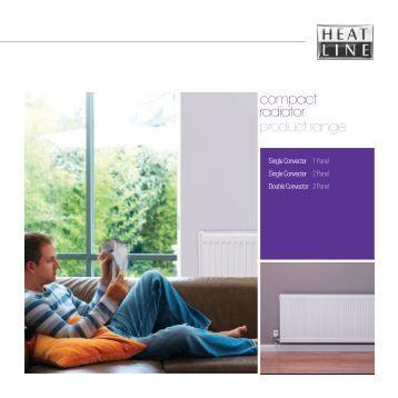 compact radiator brochure - Heatline