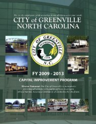 capital improvement program (cip) fiscal years ... - City of Greenville
