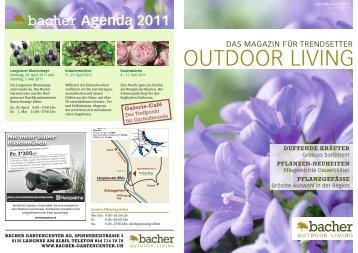 April/Mai/Juni 2011 - Bacher Garten Center