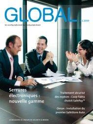 Serrures électroniques : nouvelle gamme - Gunnebo