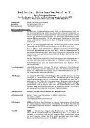 Ausschreibung - TG Heddesheim