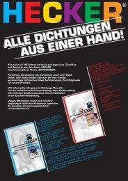 Dichtungen aus einer Hand - HECKER WERKE GmbH