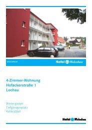 4-Zimmer-Wohnung Hofackerstraße 1 Lochau - Hefel Wohnbau AG