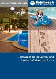 Terrassenholz im Garten- und Landschaftsbau 2011 ... - Beinbrech