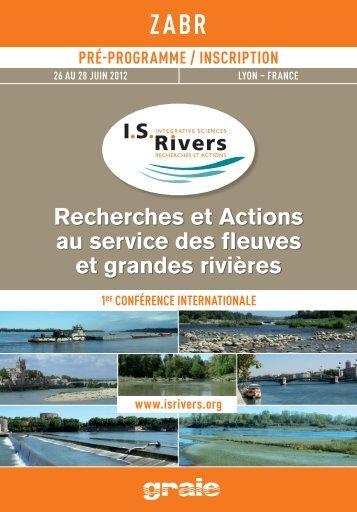 Recherches et Actions au service des fleuves et grandes ... - graie