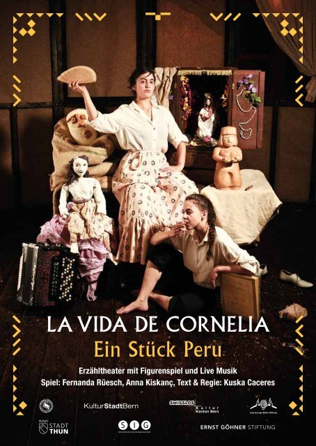 LA VIDA DE CORNELIA Ein Stück Peru - guidle