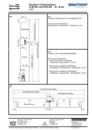 4.2 Falzmaße an Schallschutztüren 40 WE-SK1 und 40 ... - Grauthoff