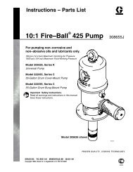 308655J - 10:1 Fire-Ball 425 Pump - US English - Graco Inc.