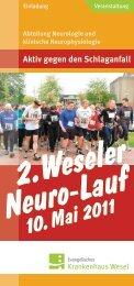 Flyer Neurolauf zum Download (PDF) - Hamminkeln
