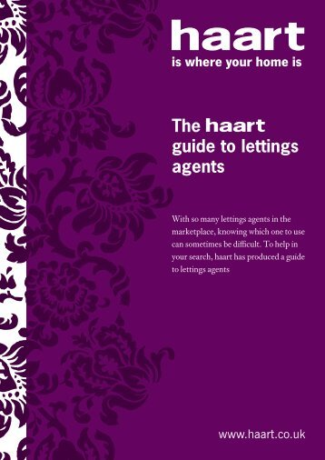 The guide to lettings agents - Haart