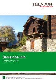 Gemeinde-Info - Gemeinde Visperterminen