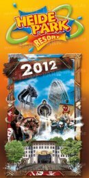 Heide Park Resort Flyer 2012 - Heide Park World