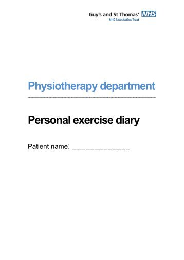 personal home exercise diary sheet medigym