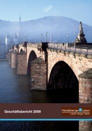 Geschäftsbericht 2009 (2.7 MB) - Heidelberger Leben