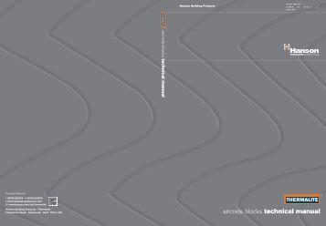 Hanson Thermalite® technical manual - HeidelbergCement