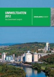 Umweltdaten 2012 - Das Zementwerk Lengfurt - HeidelbergCement