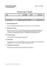 084-2005 - in der Gemeinde Heiden