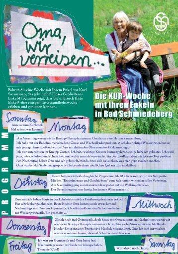 Flyer als PDF 320 kB - Eisenmoorbad Bad Schmiedeberg
