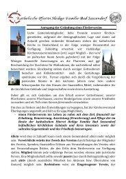 Einladung als pdf-Datei - Katholischen Pfarrei Heilige Familie Bad ...