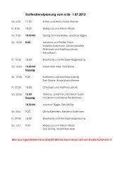 Gottesdienstplanung vom 6.06 - Katholischen Pfarrei Heilige Familie ...