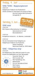 SING Day of Song - Heiligenhaus Blog