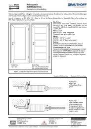 5.6 Wohnraumtür HGM Modell Patio - Grauthoff