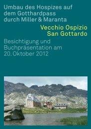 Hospiz St. Gotthard Besichtigung D.pdf - Schweizerischer Werkbund