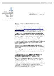 Publications Dr Jean-Daniel Rolle, professeur HEG Domaines d ...