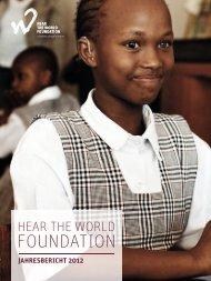 Jahresbericht 2012 herunterladen - Hear the World