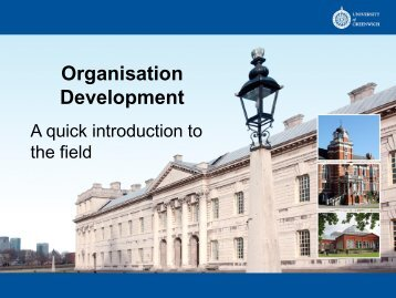 An Introduction to Organisation Development and How it Works