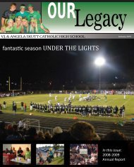 UNDER THE LIGHTS - Alumni Community