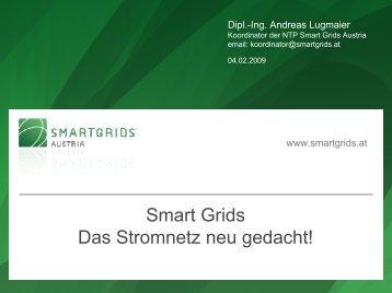 Smart Grids Das Stromnetz neu gedacht!
